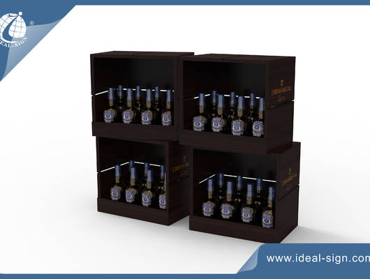 small wine racks wood