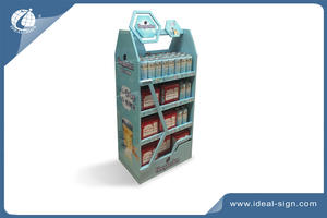 professional customized professional bottle display rack  brand solution