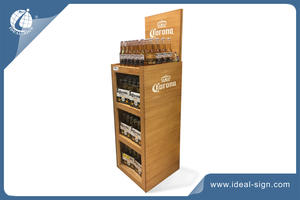 Customized Wooden Wine Rack For Displaying Liquor/wine