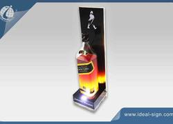 JOHNNIE WALKER LED acrylic bottle display/glorifier