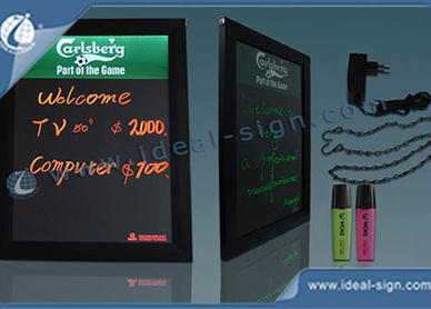 advertising chalkboards
