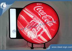 Custom Vacuum Formed Sign Coca Cola Led Sign CYMK Silk Printing