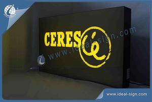 CERES Indoor LED Light Signs For Display Advertising 70 X 40 X 8CM