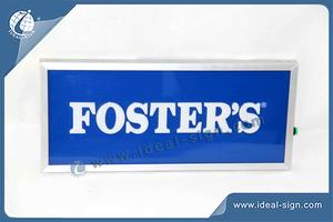 Personalized illuminated acrylic indoor signs lighted business signs for wholesale