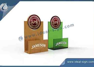 menu stand