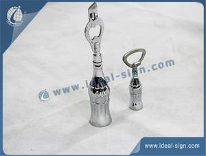 Coca Cola Aluminium Bottle Shape Opener