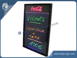 Customized Wall Mounted Chalkboard With Coca Cola Logo