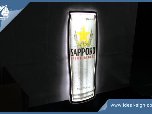 Can Shaped Light Signs