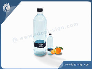 Customized Resin bottle with glass tube inside