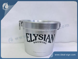 Aluminum Elysian Brewing Bucket
