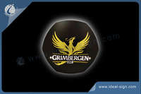 GRIMBERGEN metal wall slim light sign