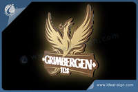 GRIMBERGEN indoor slim light sign