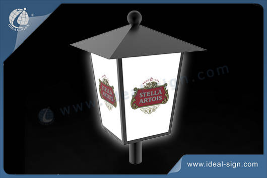 outdoor lighted signs