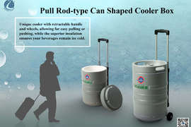 Pull Rod-type Can Shaped Cooler Box