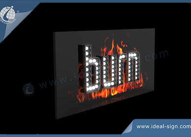 indoor light box signs