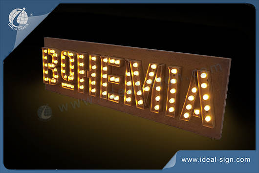 led indoor signs