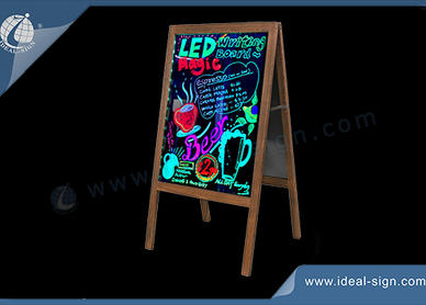 outdoor led writing board