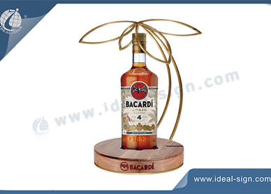 liquor bottle displays