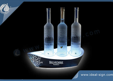 lighted bottle displays
