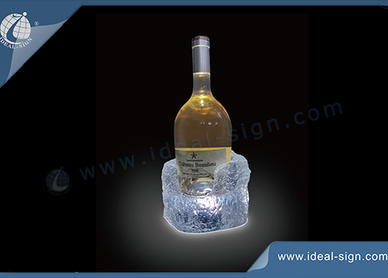 bottle display a LED
