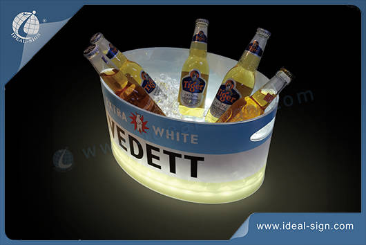 ice bucket with led lights
