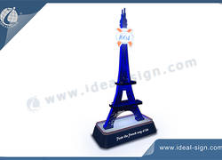 Eiffel Tower Bottle Wine Rack For Sale