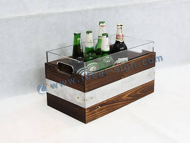Case B LED Ice Bucket