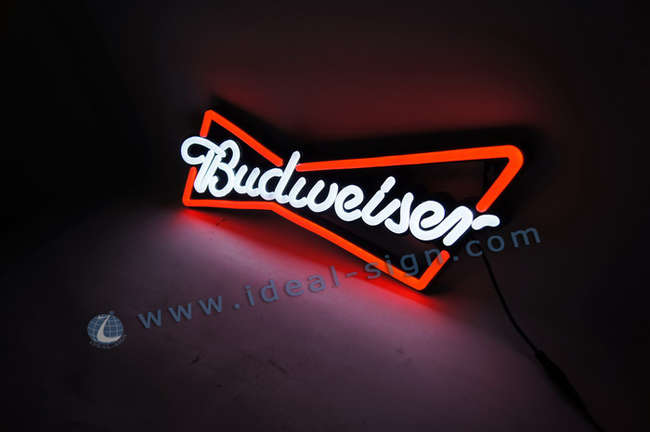 Custom neon light signs led neon sign wholesale Budweiser