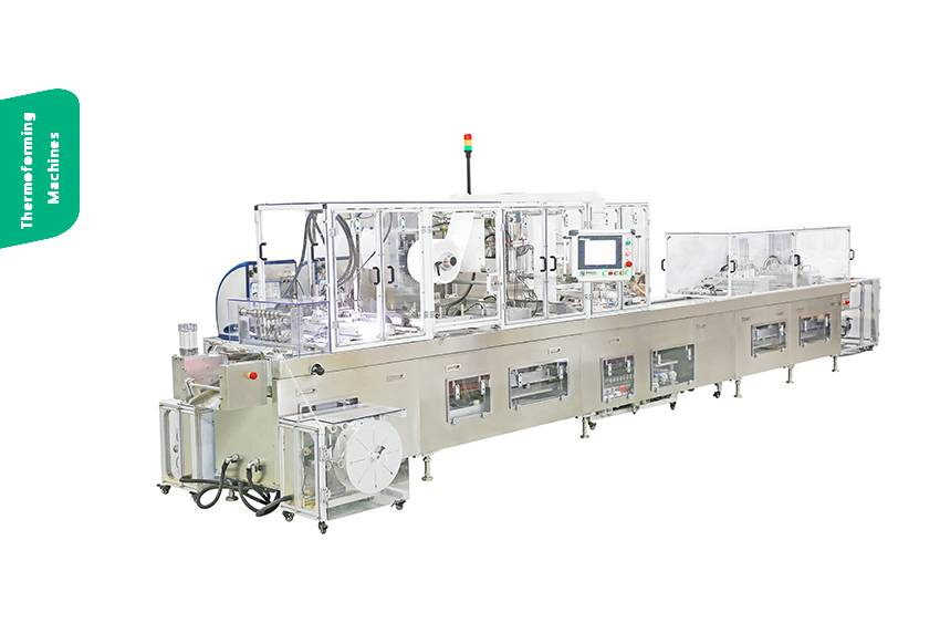 blister thermoforming packaging machine
