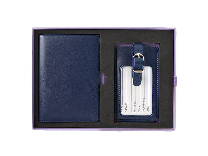 Passport Holder&Luggage Tag Set