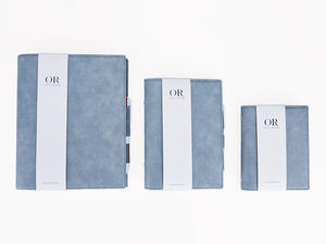 Flexible Cover Organizer With Ring Binder