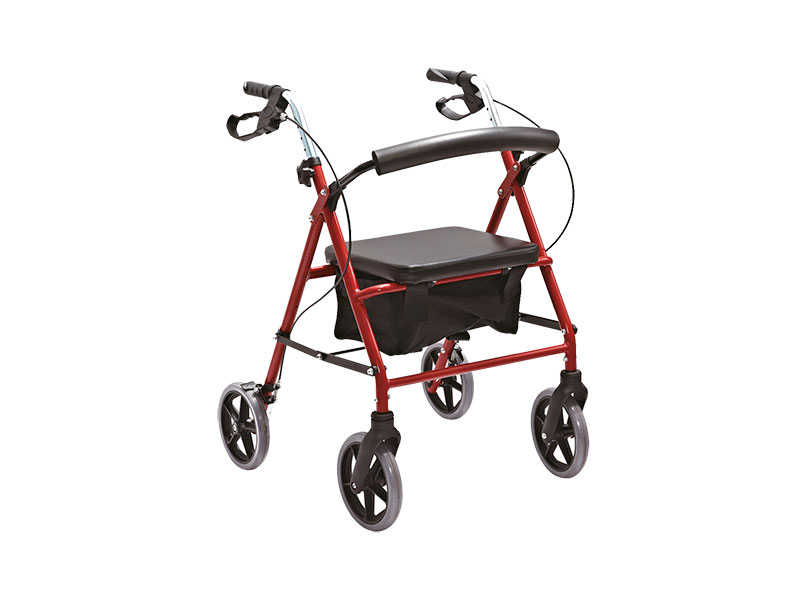 Tool-Free Detachable Casters Rollator AGRT003
