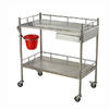 Stainless steel treatment trolley AGHE023