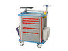 Medical aluminum emergency equipment trolley AGHE009