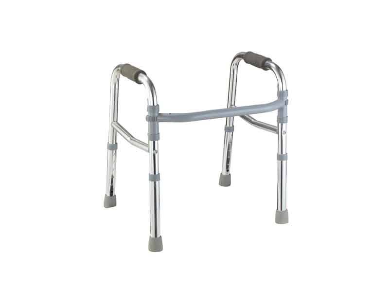 What kind of aluminium alloy elderly walker is suitable for what occasion?