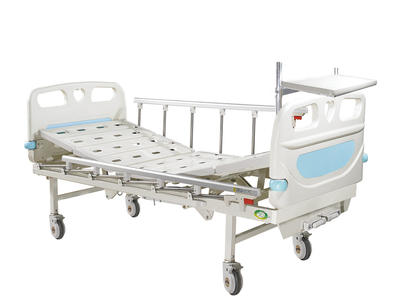 AGHBM010A 2-CRANKS MANUAL CARE BED WITH DINNER TABEL