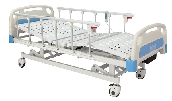 Three functions electric bed