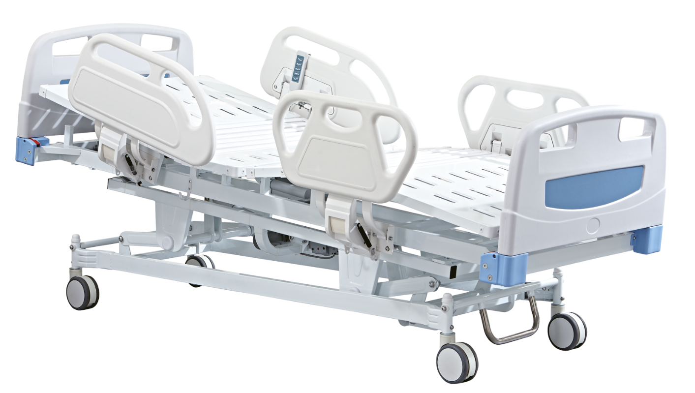 Five functions electric bed