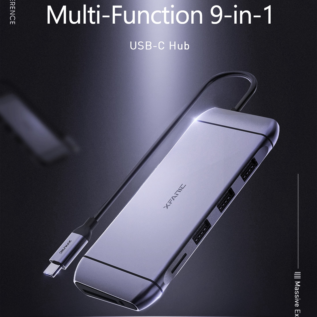 9 in 1 USB Type C Adapter