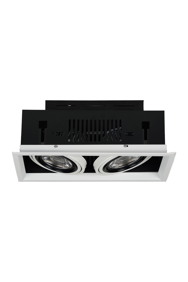 Energy efficient led commercial recessed lamps lighting fixtures