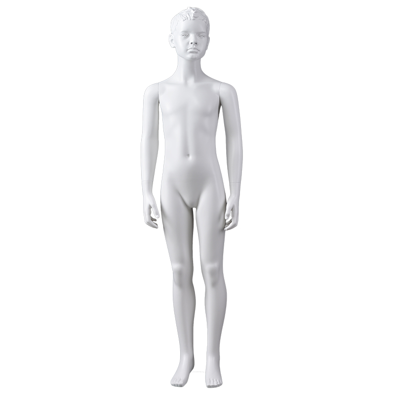 Wholsale child mannequin display realistic fiberglass dispaly mannequins for sale(KMP 10 years old child mannequin)