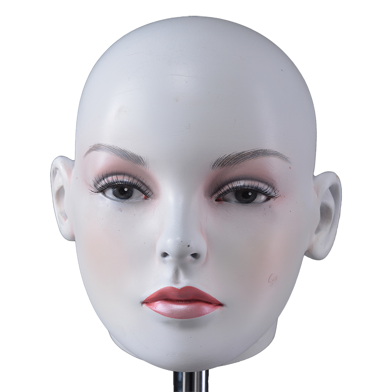 High quality realistic mannequin head female mannequin for training (KMH)