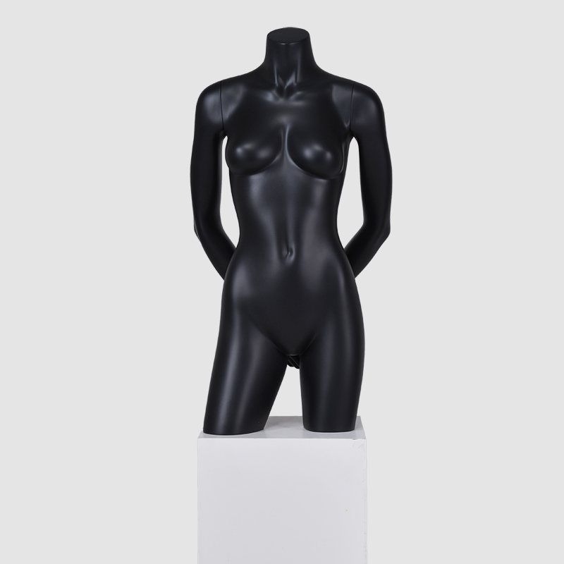 Fashion Matte white female half mannequins for sale(MMH)