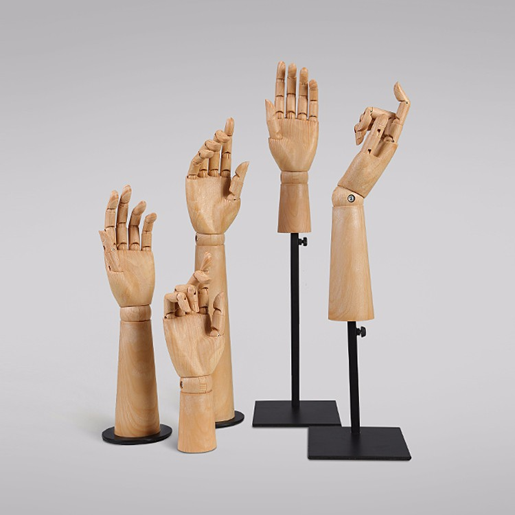 Cheap plastic mannequin hands for sale(KH)