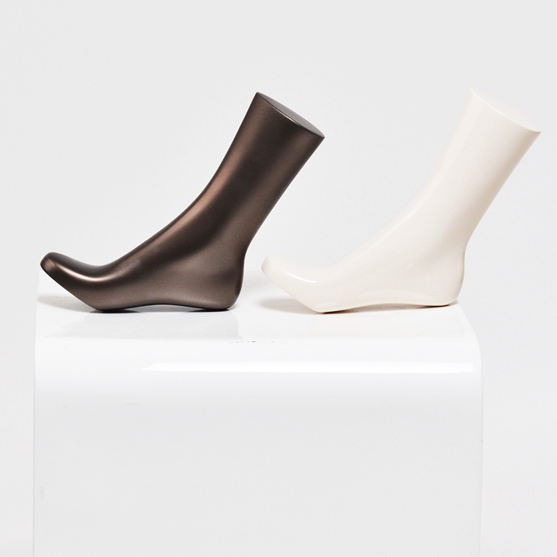 High quality mannequin foot sale for sock display (GF)