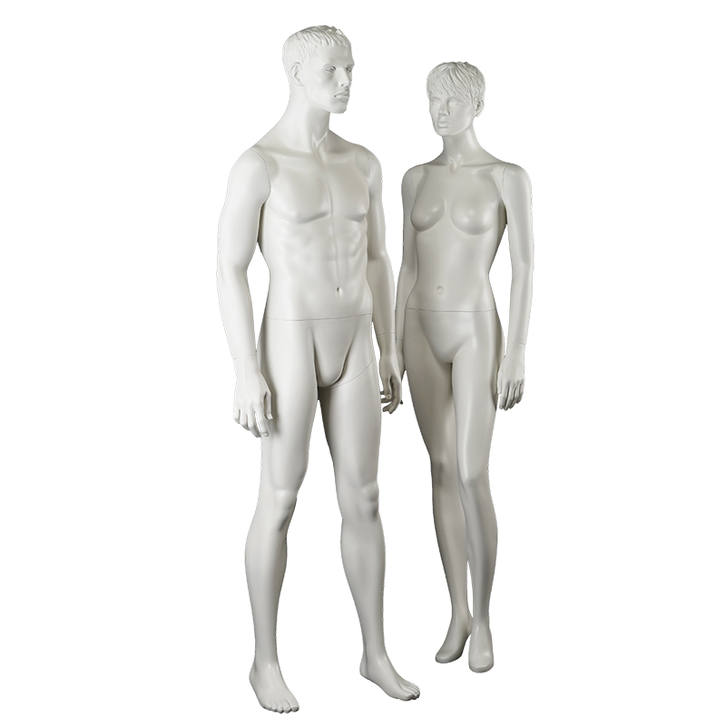 Innovative design lifelike mannequin male and female combination garment mannequin for window display(TM)