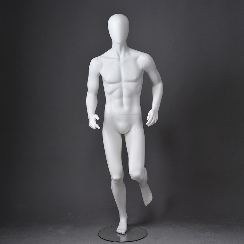Customized mannequin running man for window display(OPM)