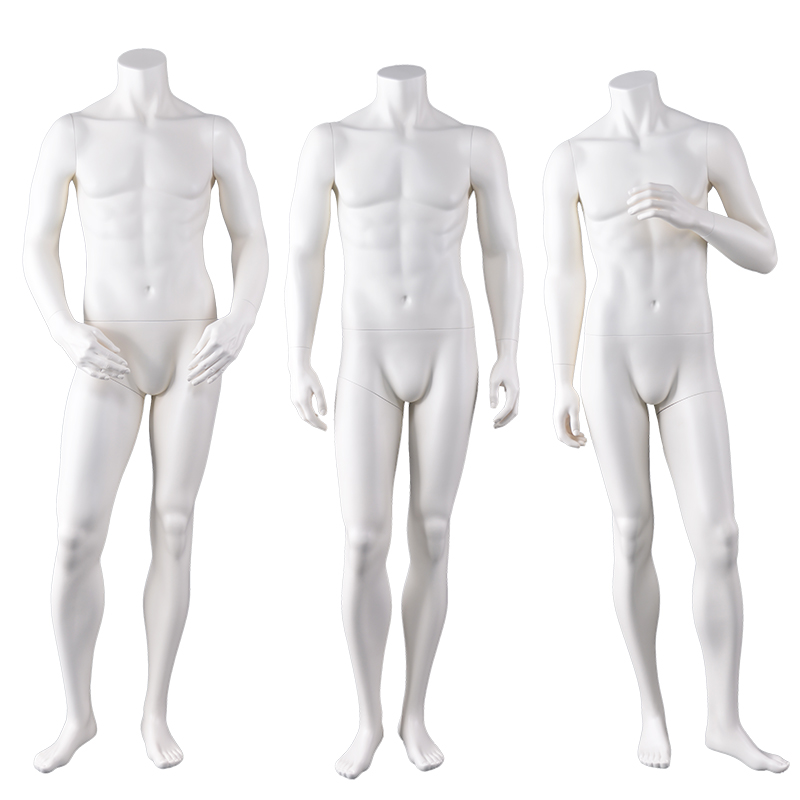 High quality brand new fiberglass muscle male mannequin full body headless male mannequin for sale(GBM)