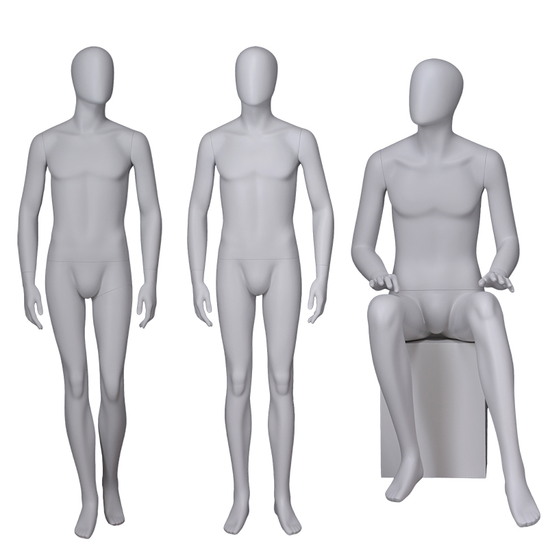 Fashion Window White Full Male Mannequin Cheap Fiberglass Mannequin on Sale(WM)