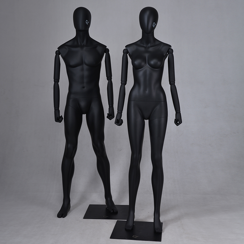 Fashion custom female mannequins for sale male and female mannequin for window display(MTM)